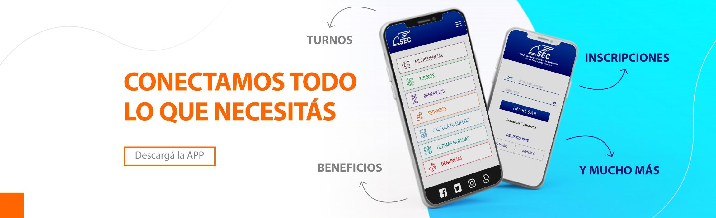 Descargate la app